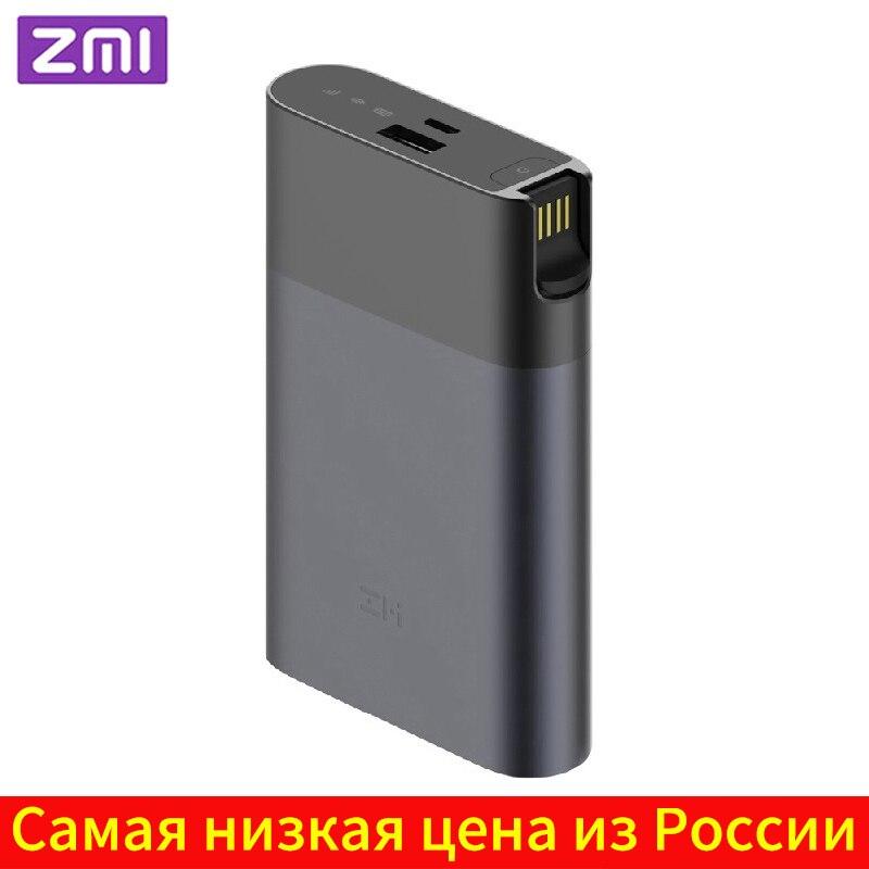 ZMI MF885 4G Wi Fi роутер 10000 мАч Внешний аккумулятор беспроводной Wi Fi ретранслятор 3G4G роутер Мобильная точка доступа Быстрая доставка