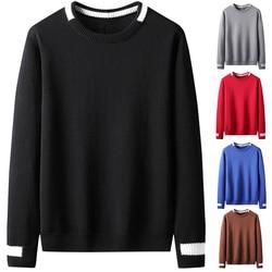 Varsanol-pull en coton pour hommes, basique, vêtements d'hiver, chaud, de noël, grande taille, 3XL, décontracté