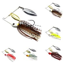 1pcs Spinner Bait 12g 17G Metal Lure Hard Fishing Lure Spinner Lure Spinnerbait Pike Swivel Fish Tackle Wobbler Fishing(China)