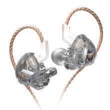 AK KZ EDX 1 dynamique dans l'oreille écouteurs HIFI basse casque antibruit casque