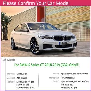 Image 3 - Guardabarros para BMW Serie 6 Gran Turismo GT G32 2018 ~ 2019, guardabarros, guardabarros, accesorios guardabarros 630i 640i 620d1