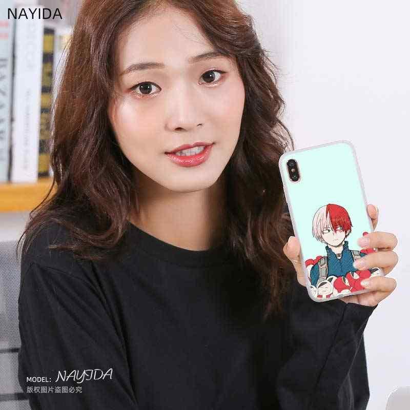 Siliconen Telefoon Case Cover Voor Huawei Honor 20 9 10 Lite 6X 7X 8X Max 7a Pro 8a V20 V30 9a 10i 20i Hot Shoto Todoroki