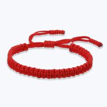 Tybetańskie nici buddyjskie bransoletki i bransolety regulowany rozmiar dla kobiet ręcznie węzeł Amulet czerwona linka szczęśliwa bransoletka urok biżuterii tanie tanio shshd Chain link bransoletki Zakochanych Brak Moda TRENDY Koronki Łańcuch liny ROUND Ukryte-zapięcie z bezpieczeństwem