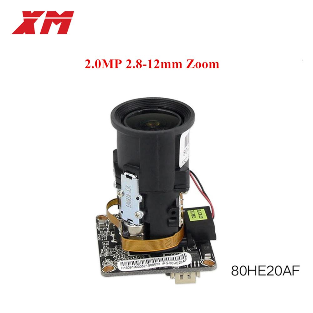 Auto-Zoom 4X Motorized Zoom LENs 2.8mm-12mm Full HD 1080P 1/2.9'' S CMOS SC2235+Hi3516E IP Camera Module PCB Board