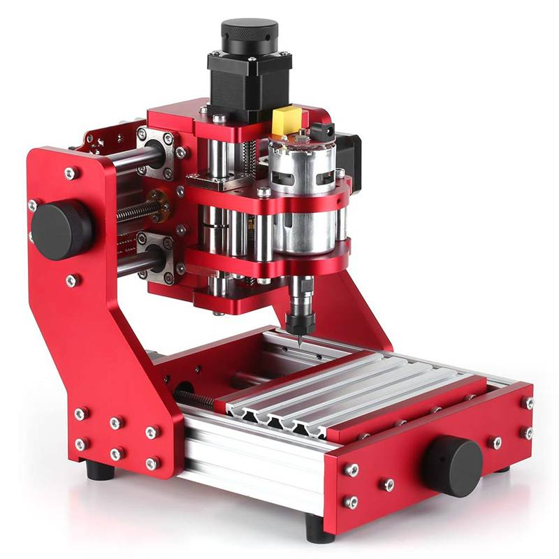 Red 1310 3 Axes Mini DIY CNC Router Standard Spindle Motor PCB Wood Metal Laser Engraving Machine Milling Engraver Woodworking