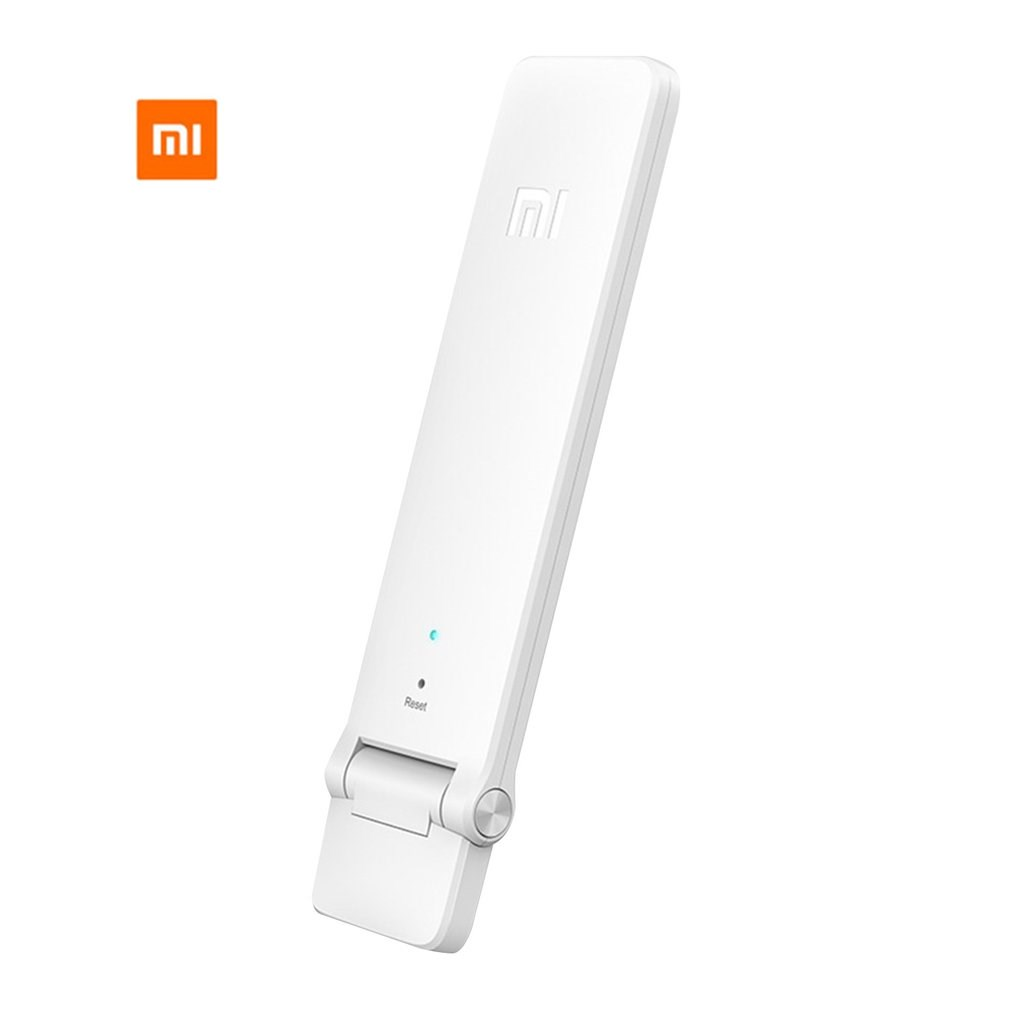 Xiaomi wifi amplifier2 repetidor wi-fi sem fio 2 geração universal expansor de sinal antena 300 mbps recebe sinais aprimorados