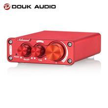 Douk Âm Thanh NS 13G Mini TPA3116 Điện Kỹ Thuật Số Khuếch Đại HiFi Lớp D Stereo Để Bàn Âm Thanh Amp 100W * 2 Cho nhà Stereo