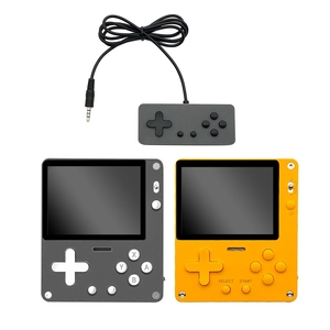 Retro Game Console Handheld Rechargeable 2.8 inch Color LCD 8-Bit Kids Multiplayer Portable Built-in 1000 Classic Games