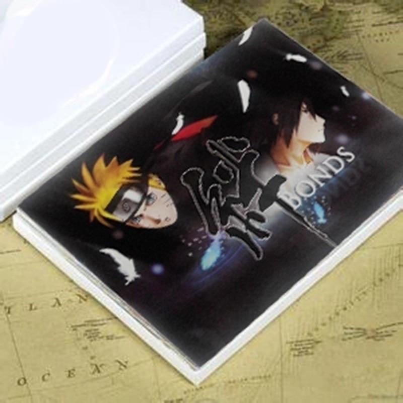 21sheets/LOT Anime Naruto Postcards/Greeting Card/wish Card/Fashion Gift/postcards For Kids