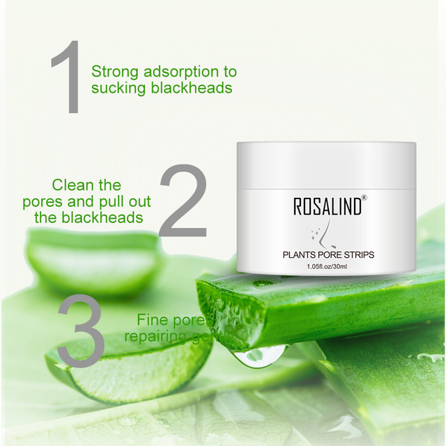 ROSALIND Face Masks From Black Dots Stripes Nose Pore Blackhead Remove Wrinkle Acne Nose Tearing Mask For The Face Cream Care 2