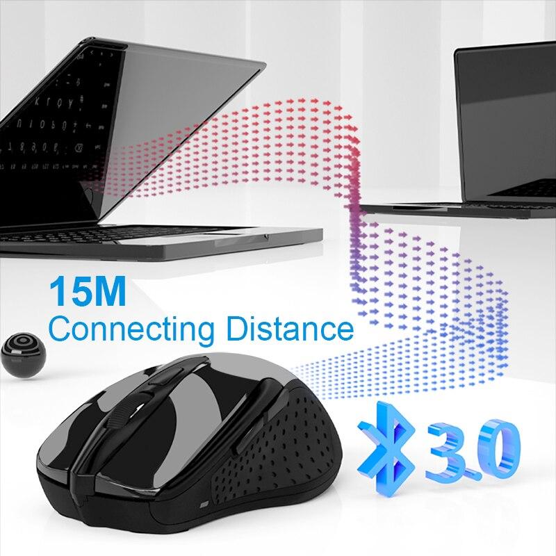 Image 2 - TeckNet оптическая беспроводная мышь компьютерная Bluetooth мышь  2600 точек/дюйм 2,4G Беспроводная Bluetooth мышь эргономичная мышь для  ноутбука/планшета-in Мыши from Компьютеры и офисная техника on  AliExpress