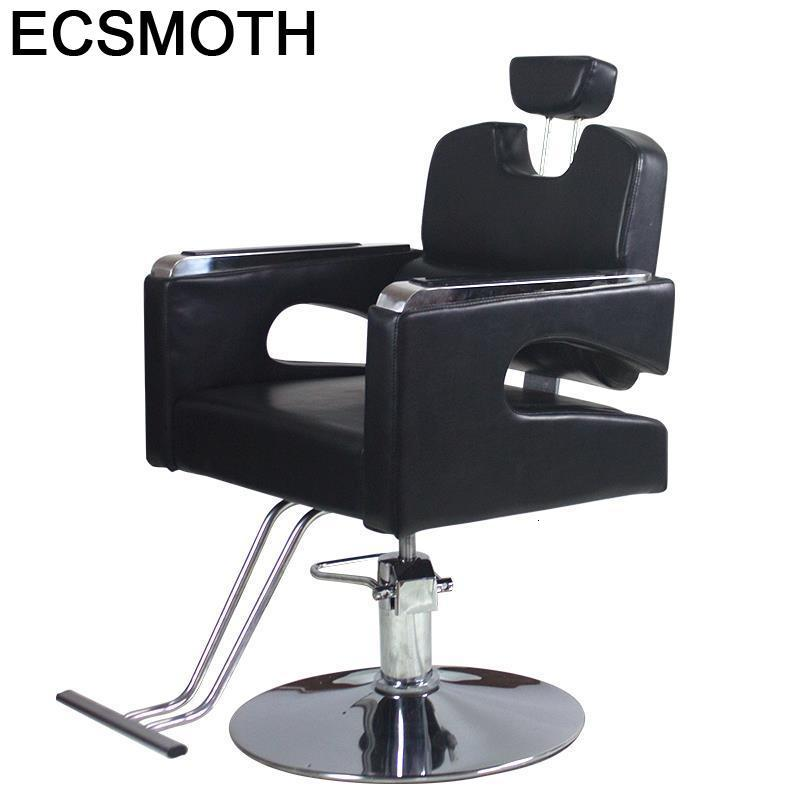Hair Kappersstoelen Silla Barbero Stuhl Mueble De Belleza Stoel Barbeiro Chaise Salon Barbearia Shop Cadeira Barber Chair