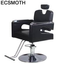 Парикмахерские кресла для волос Silla Barbero Stuhl Mueble De Belleza Stoel Barbeiro Chaise Salon Barbearia Shop Cadeira(China)