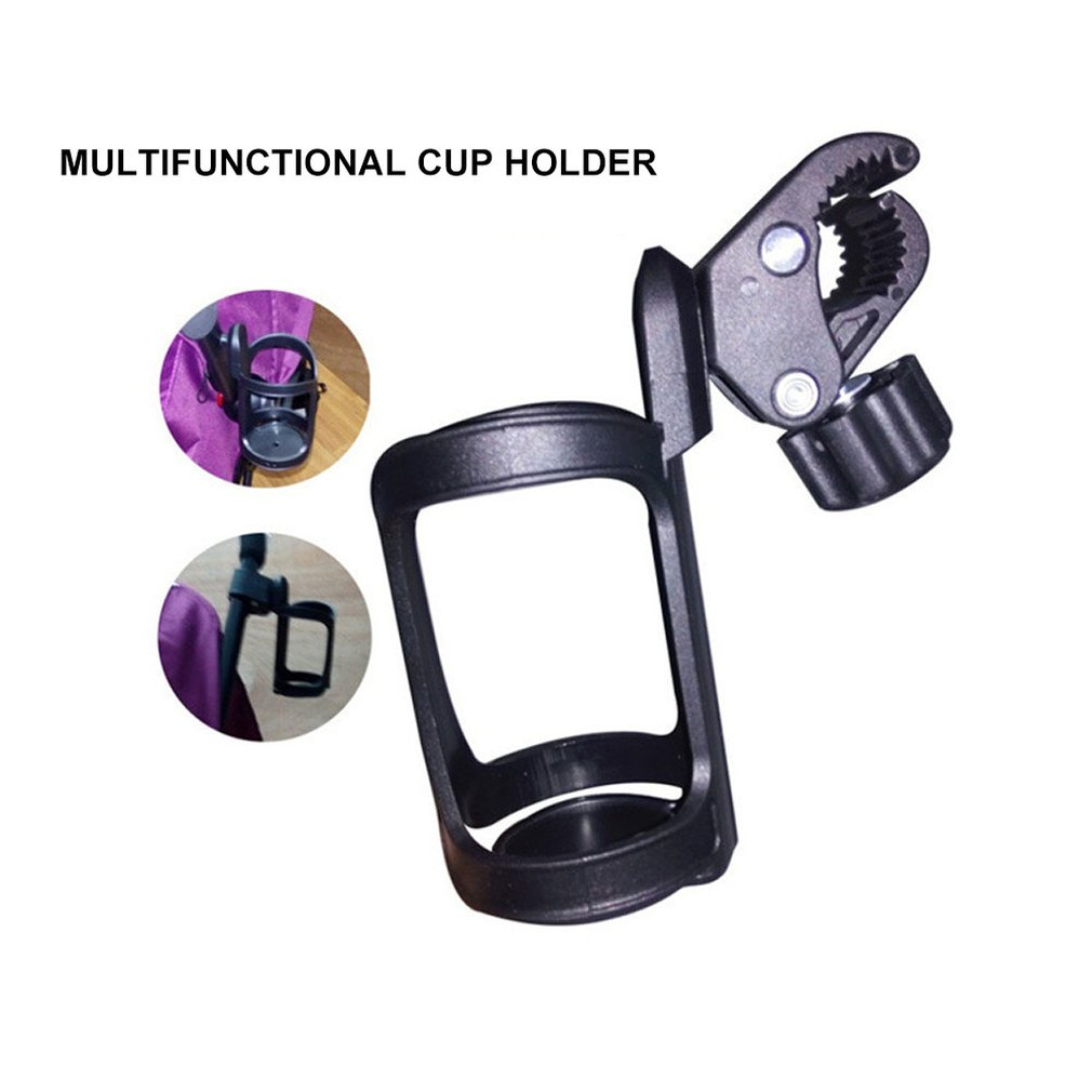Baby Trolley Car Tricycle Bicycle And Multi-function Stroller Holder Cup Four-wheeled Umbrella Bottle Bicycle Cage Shelf