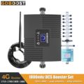 GOBOOST 4G Signal Booster LCD Display Handy Signal Verstärker Kit LTE DCS 1800 MHz Band3 Mini Moblie Repeater set 65dB Gain