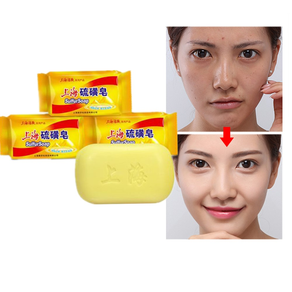 85g Shanghai Traditional Sulphur. Private Cleaning Agent. Botanical Chinese Medicine To Remove Odor. Antiseptic Soap