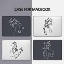 Mtt caso do portátil para macbook ar pro 11 12 13 15 16 polegada barra de toque 2020 capa portátil para macbook ar 13 funda a2179 a2289 a2251