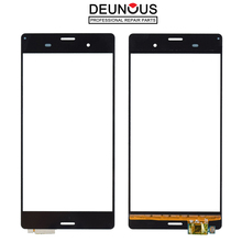 New 5.2'' Z3 Touch Panel for Sony Xperia Z3 D6603 D6653 D6543 Touch Screen Digitizer Sensor Front Gl