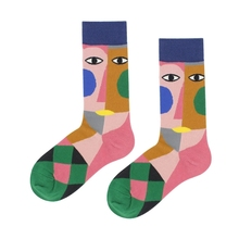 Womens Cotton Socks Animal Students New Cartoon Personality Tide Fashion 2019 Popular Cute