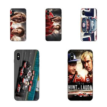 James Hunt Niki Lauda Competing For Huawei nova 2 2S 3i 4 4e 5i Y3 Y5 II Y6 Y7 Y9 Lite Plus Prime Pro 2017 2018 2019 Cell Case image