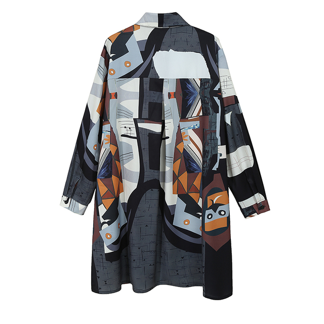 VeryYu Plus Size 2020 Autumn Full Sleeve Multicolor Fashion  VerYYu
