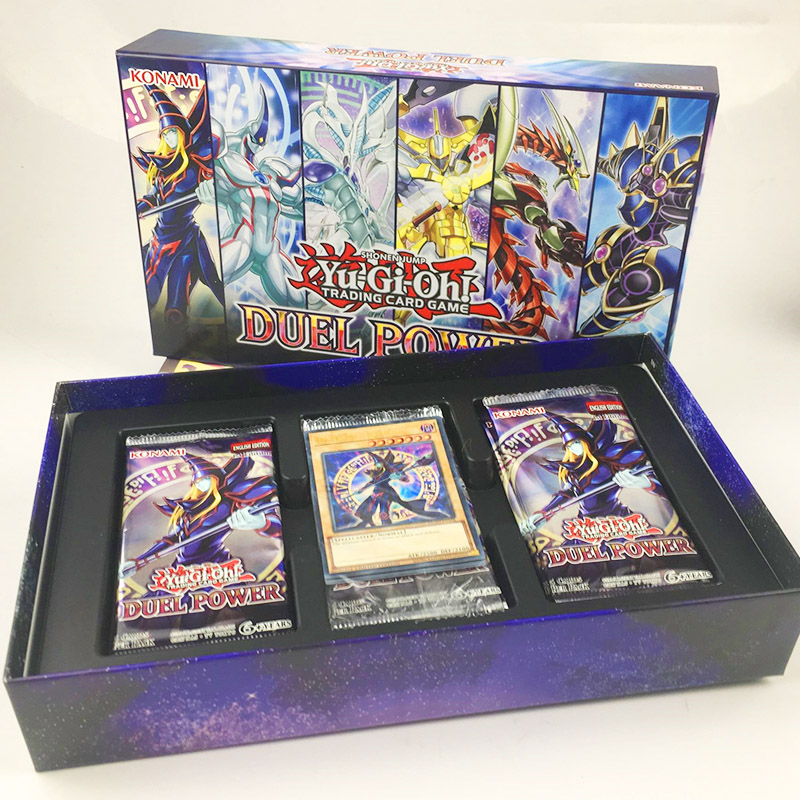 YU GI OH English Duel Power Collection 20th Anniversary Gift Box Handpick Replica Edition Collection Card Kids Toy Gift
