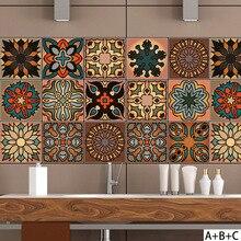 salon marocain carrelage mural