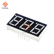 0.56 Pollici 7 Segmenti Led Display 2 Bit/3 Bit Tempo Tubo Digitale Anodo Comune Rosso Mini Display Digitale tubo di Visualizzazione Bs Catodo(China)