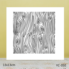AZSG Fine-grained wood Clear Stamps For DIY Scrapbooking/Card Making/Album Decorative Rubber Stamp Crafts