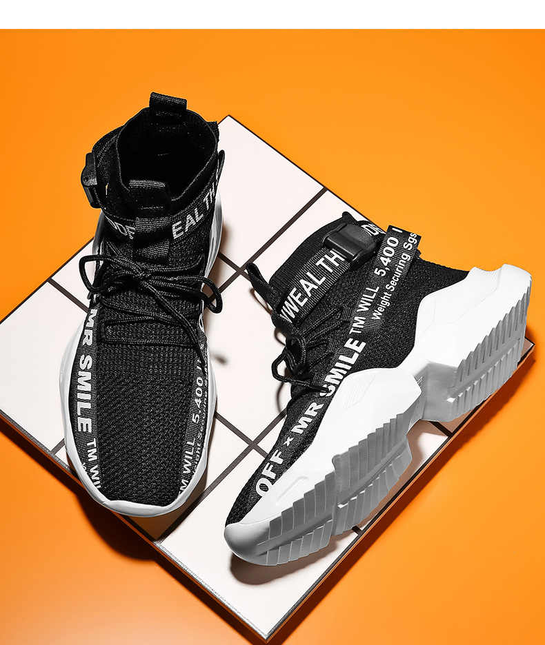 Mr smile sport sneakers   Sneakers, High top sneakers