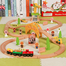 Ant  Thomas And Friends Wood Bridge For Train Track Toy Trucks Kids Toys Trains The Model Car Rail toy car