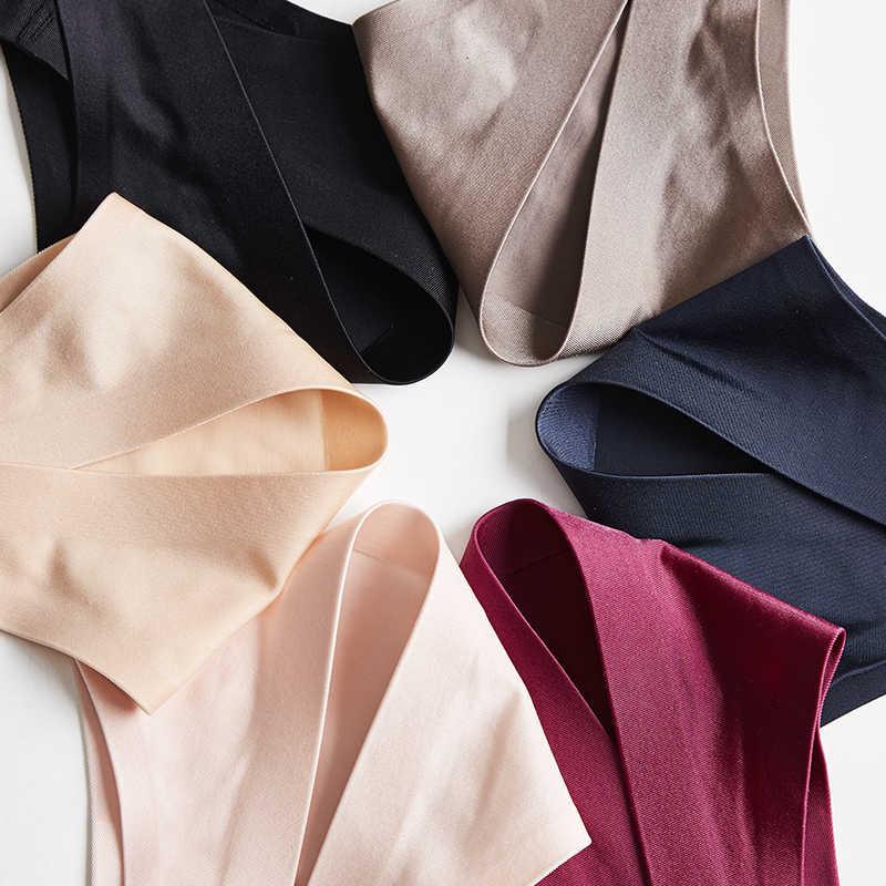 Culotte Sexy sans couture string pour femmes, sous-vêtements Sexy, taille basse, string intime