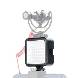 Image 1 - Ulanzi 울트라 밝은 49 LED 비디오 빛 3 핫슈 디 밍이 휴대용 높은 전원 패널 비디오 빛 캐논 니콘 스마트 폰