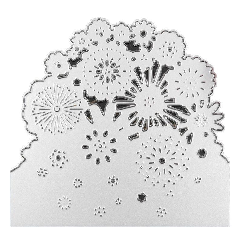 Flower Metal Cutting Dies DIY Stencil Scrapbook Album Paper Card Embossing Craft