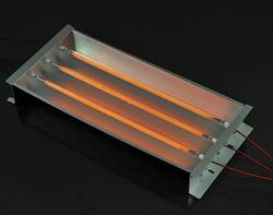 1500W heating lamp for screen printing