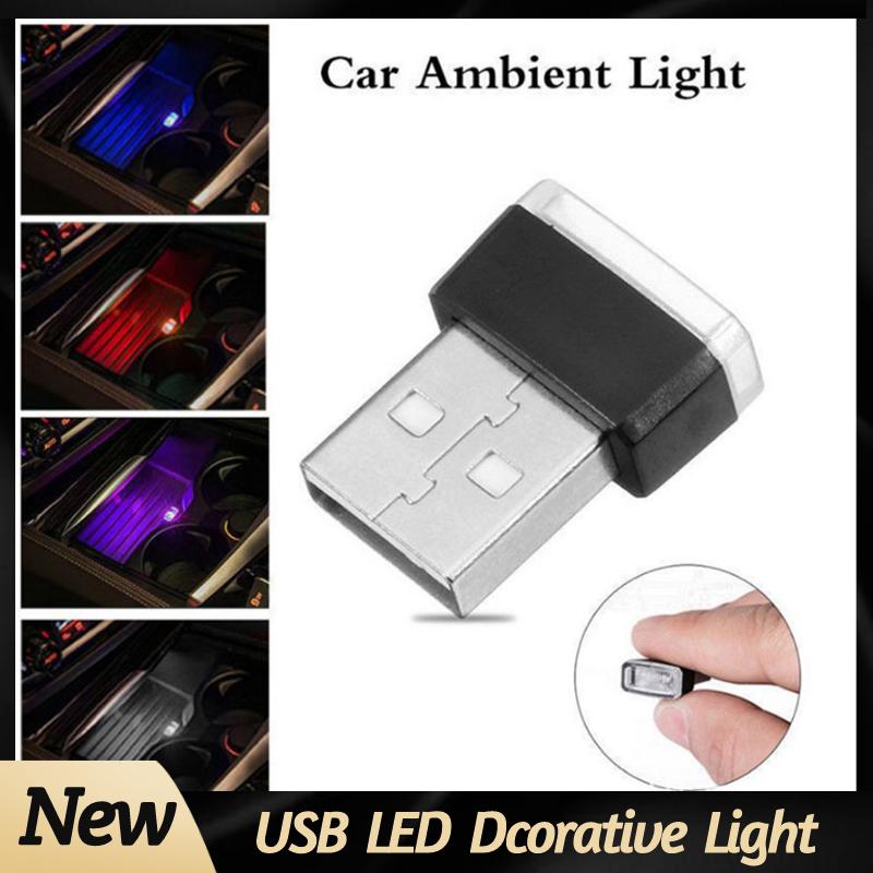 éclairage intérieur led Mini lampe d'ambiance LED fluo 7 couleurs pour intérieur