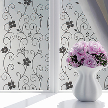 Window Frosted Stickers Opaque Glass Window Film For Window Privacy Adhesive Glass Stickers for Home Decor Mixed Color Bathroom