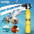 Погружной кислородный баллон DIDEEP  система для дайвинга  подводное дыхание  оборудование для плавания  мини баллон для кислорода  резервуар ...