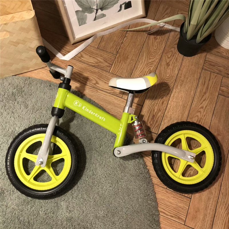 Hac76a61ef53a45fa81bc8cbeb917fad8D Brand New Balance Bike Bicycle For Kids 3~6 Ages Child Toddler Complete Cycling Bike Learn to Ride Bicicleta No Pedal Push Bike
