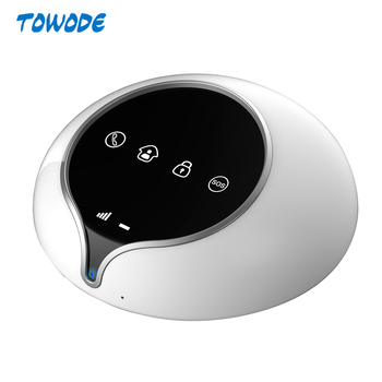 Towode 3G WCDMA GSM WIFI Home Alarm System Wireless Security Pet Immune PIR Door Window Sensor Alarm APP Control