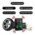 Шины для легковых автомобилей Давление монитор OBD давления воздуха в шинах Аварийная сигнализация по Системы без Сенсор комплект для Mitsubishi ...