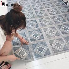 Pegatina de suelo de mármol autoadhesiva gruesa, Panel de pared decorativo para cocina, pegatinas de suelo de azulejo impermeables, calcomanía de decoración del hogar