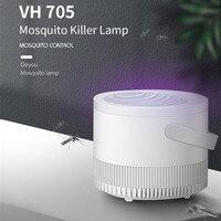 USB 전원 LED 모기 킬러 램프 실내 야외 모기 구충제 자외선 곤충 킬러 제어 트랩 램프 자동차 홈