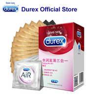 Durex manchon pénis préservatif Ultra mince bite Dick Kamasutra produits sexuels Latex naturel caoutchouc intime préservatifs pour hommes Sex Shop