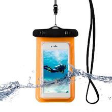 Waterproof Phone Bag Pouch Underwater Dry Case Cover Universal for Mobile Phone Water Proof Bags Dirt-resistant(China)