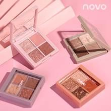 Novo paleta de sombras de glitter, maquiagem para paleta de sombras polarizadas, cosméticos de pigmento duocromáticos brilhantes