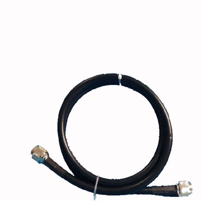 SYV 50-7 Cable N-Male To N-Male 1 Meter Pure Copper Cable Low Loss High Quality For Wireless AP Engineering