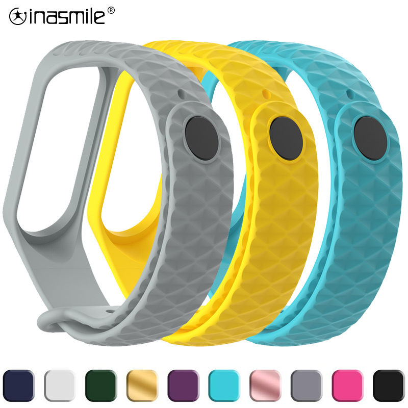 Stylish And Pretty Strap For Xiaomi Mi Band 3  Strap Wristband Replacement For Mi Band 4 Smart Correa Bracelet Xiao Mi Band