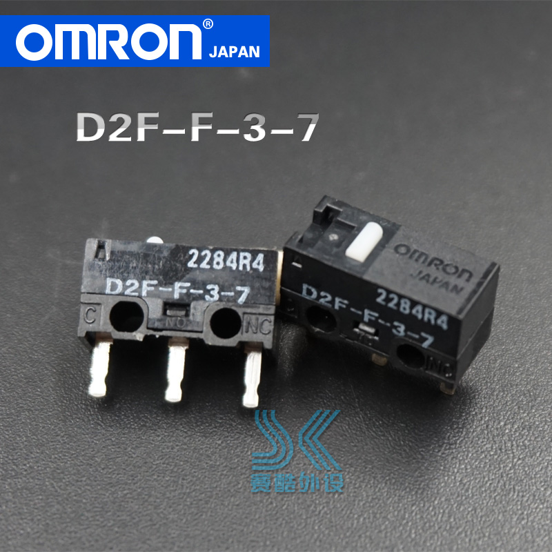 OMRON Mouse Micro Switch D2F-F-3-7 Button Suitable For 10M 20M 50M Steelseries Sensei 310 G304 G305 G602 G900 G903 Free Shipping