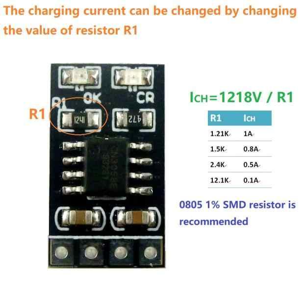 1A 3.2V 3.6V LiFePO4 بطارية ليثيوم شحن وحدة الخليوي شاحن بطارية 3.8V 4.2V 4.5V 5V ل Ebike UPS سيارة الشمسية